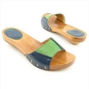 FRYE | Ellie Luxurious Slide Sandals